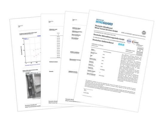 Anemometer calibration, MEASNET/IEC 61400-12-1