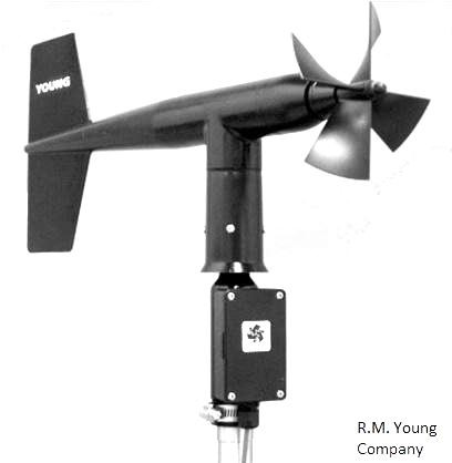 R. M. Young Wind Monitor Anemometer - WindGuard Shop